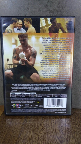 la ultima pelea warrior dvd joel edgerton tom hardy nick nol
