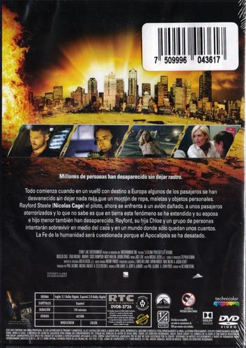la ultima profecia  nicolas cage dvd