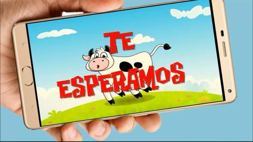 la vaca lola video tarjeta invitación cumpleaños whatsapp