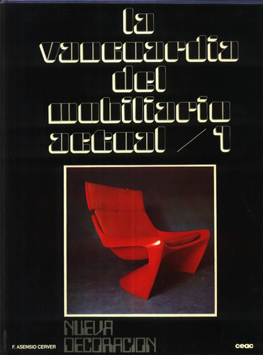 la vanguardia del mobiliario actual 2 volumes - cerver