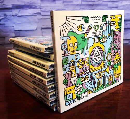 la vela puerca destilar cd nuevo 2018 original en stock