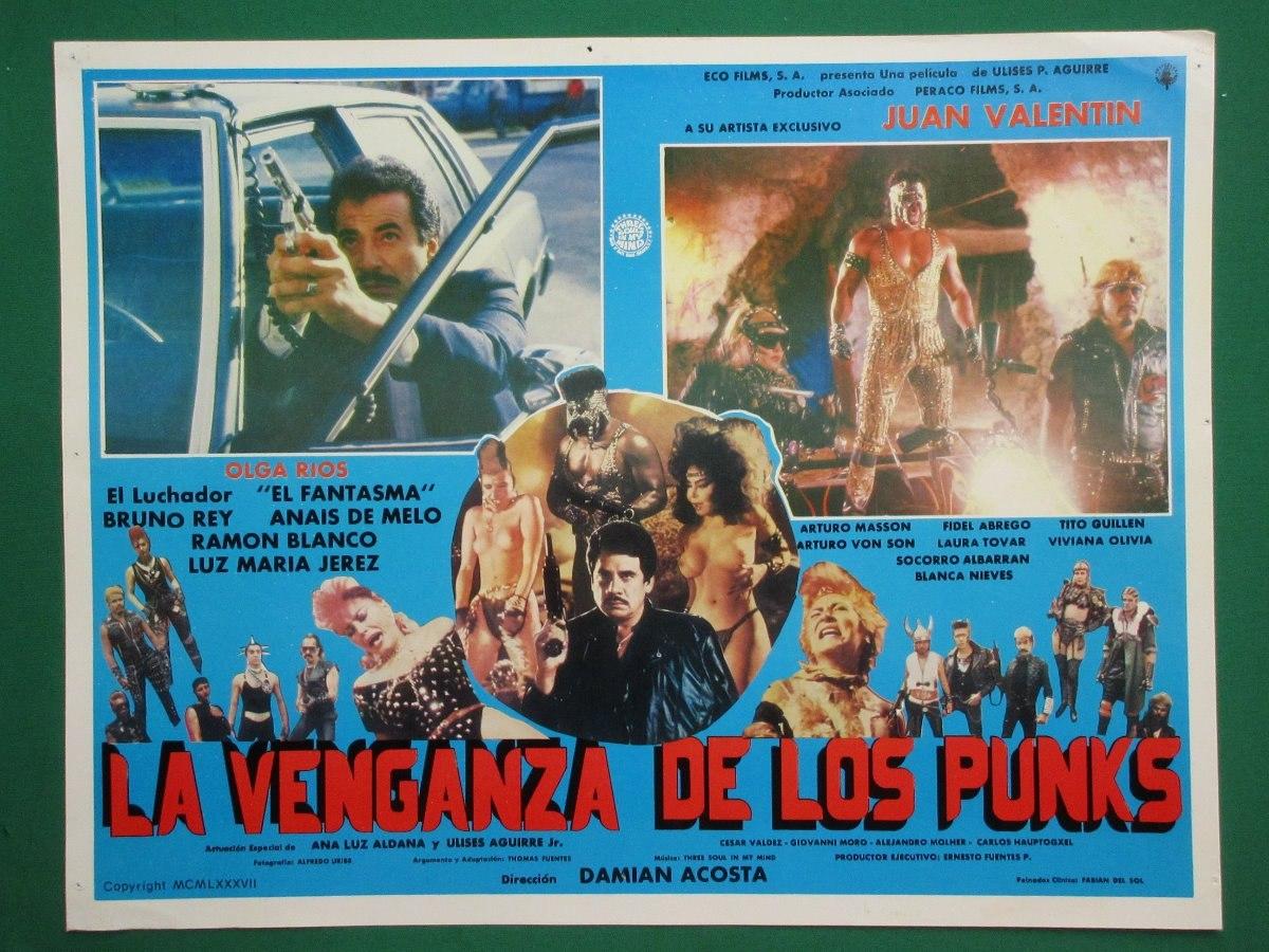 La Venganza De Los Punks Sexy Topless Orig Cartel De Cine 7 8000