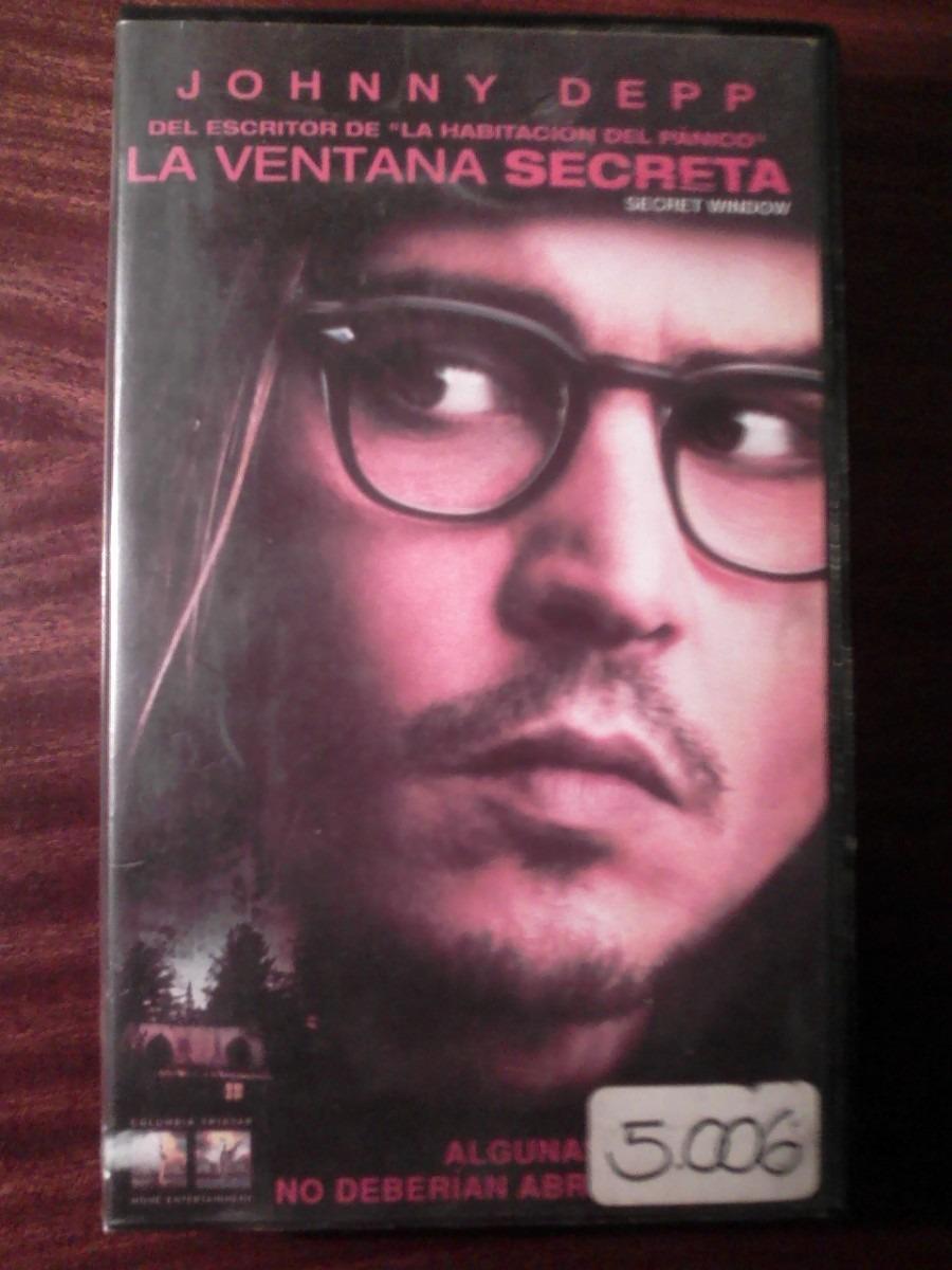 La Ventana Secreta Vhs Johnny Depp John Turturro M Bello 40