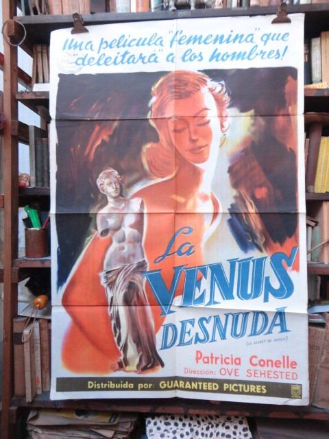 La Venus Desnuda Afiche Cine Original 58500