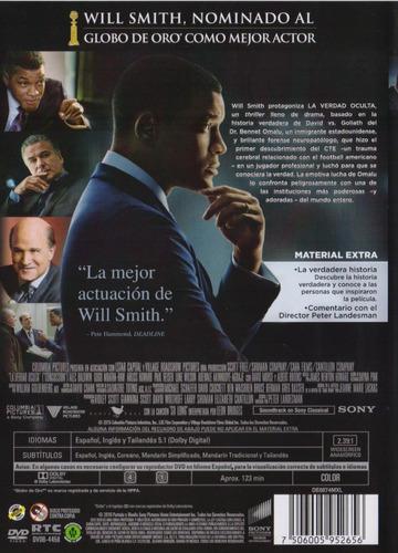 la verdad oculta concussion will smith pelicula dvd