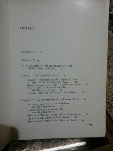 la verdadera interpretacion del calendario azteca, e. ibarra