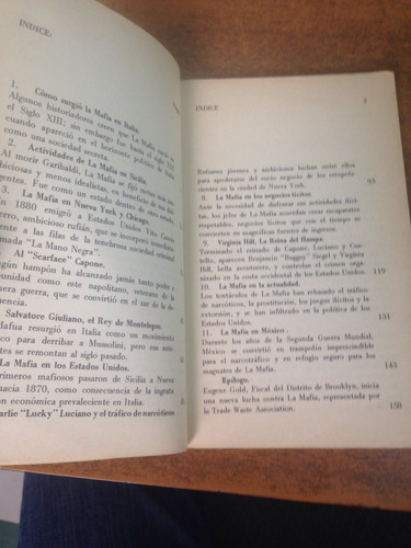 la verídica historia de la mafia / rod silica