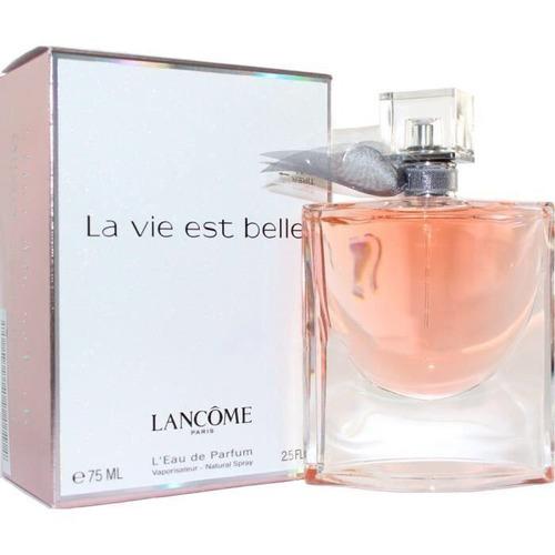 la vi est belle lancome parís 75ml l'eau de parfum