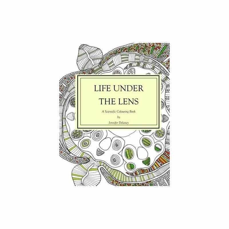 La Vida Bajo La Lente: Un Libro Científico Para Colorear ...