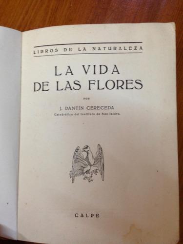 la vida de las flores - j. dantin cereceda