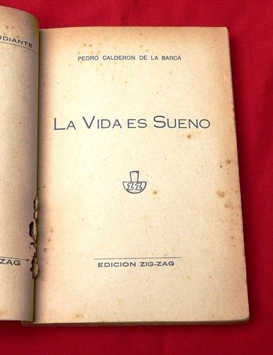 la vida es sueño calderón de la barca zig zag chile novela