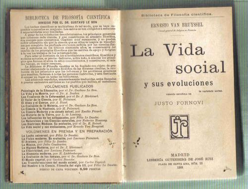 la vida social  - van bruyssel - gutenberg