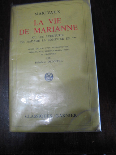 la vie de marianne. marivaux. francés