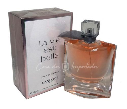 la vie est belle eau de parfum 100ml   original + amostra
