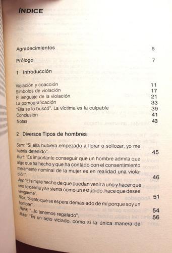 la violación y los hombres - timothy beneke