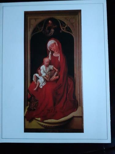 la virgen con el niño roger van der weyden