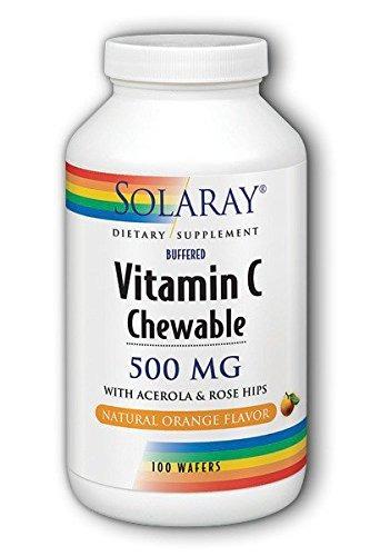 la vitamina c500 masticable naranja 100 obleas