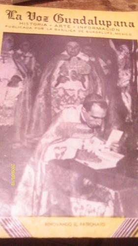 la voz guadalupana , historia , arte , informacion ,año 1947