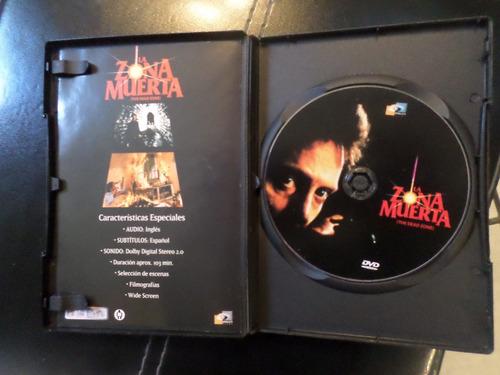 la zona muerta - the dead zone - dvd stephen king 1983