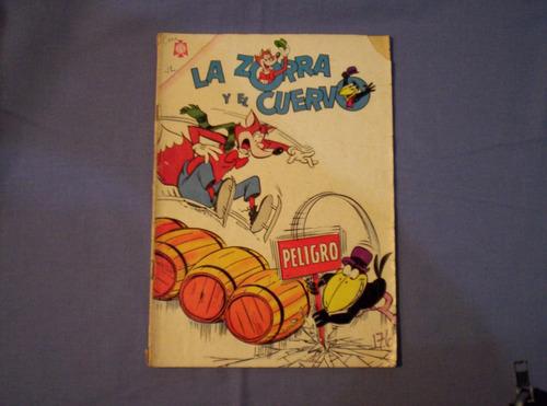 la zorra y el cuervo comics ed. novaro años 60s y 70s