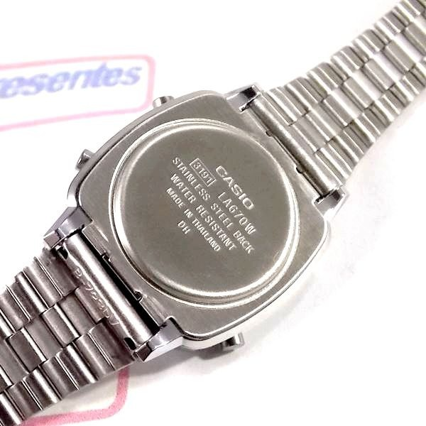 b7eec080f86 La670wa-7df Relogio Casio Mini Retro - 100% Original - R  195