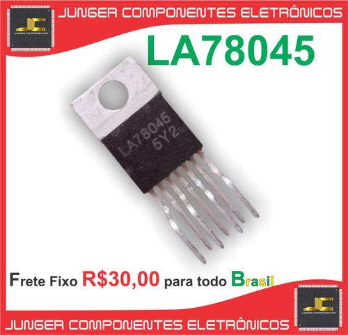 la78045 - saida vertical -  la78045 original sanyo - 78045