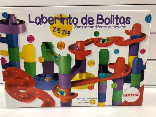 laberinto de bolitas zig zag ante july toys