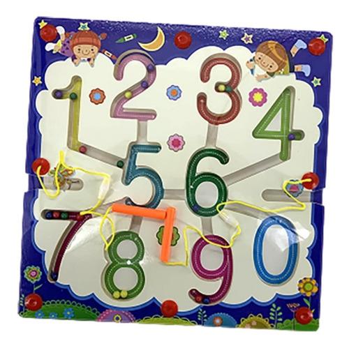 laberinto didactico juego imantado + ludo 2 en 1 madera niño