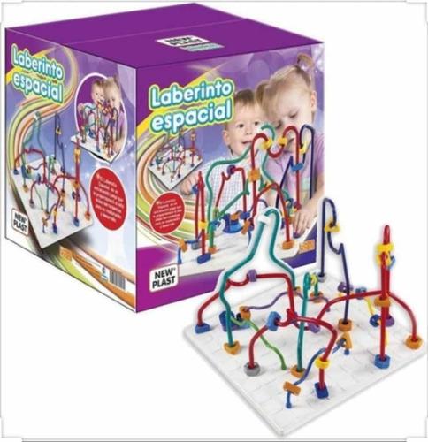 laberinto espacial didáctico new plast july toys