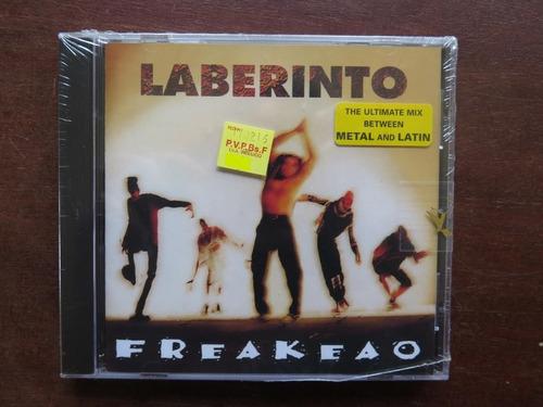 laberinto - frekeao. metal nacional. == nuevo sellado ==