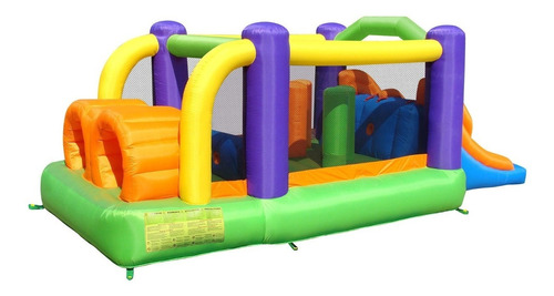 laberinto inflable brincolin tobogan doble oferta especial