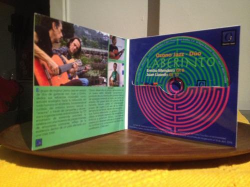 laberinto - ozono jazz - (cd) música ecológica venezuela