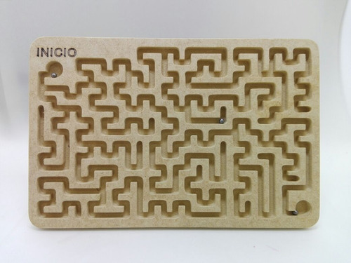 laberinto rectangular mdf