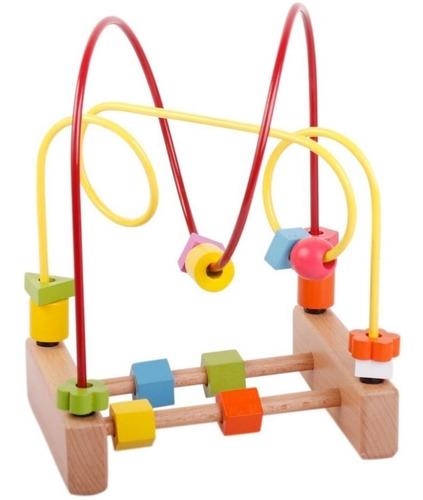 laberinto roller juego de madera bebé
