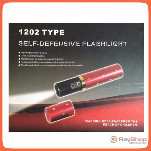labial  lámpara taser electroshock 3800kv paralizador st58