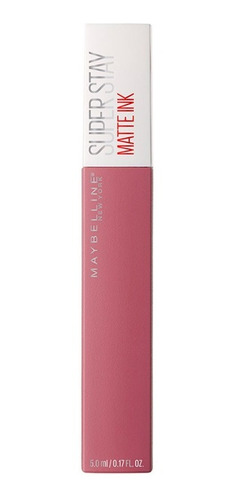 labial larga duración superstay matte tono lover maybelline