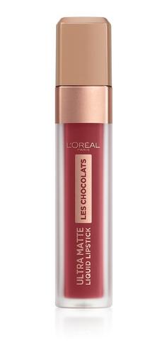 labial líquido matte loreal paris infallible chocolats