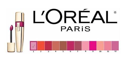 labial loreal colour caresse