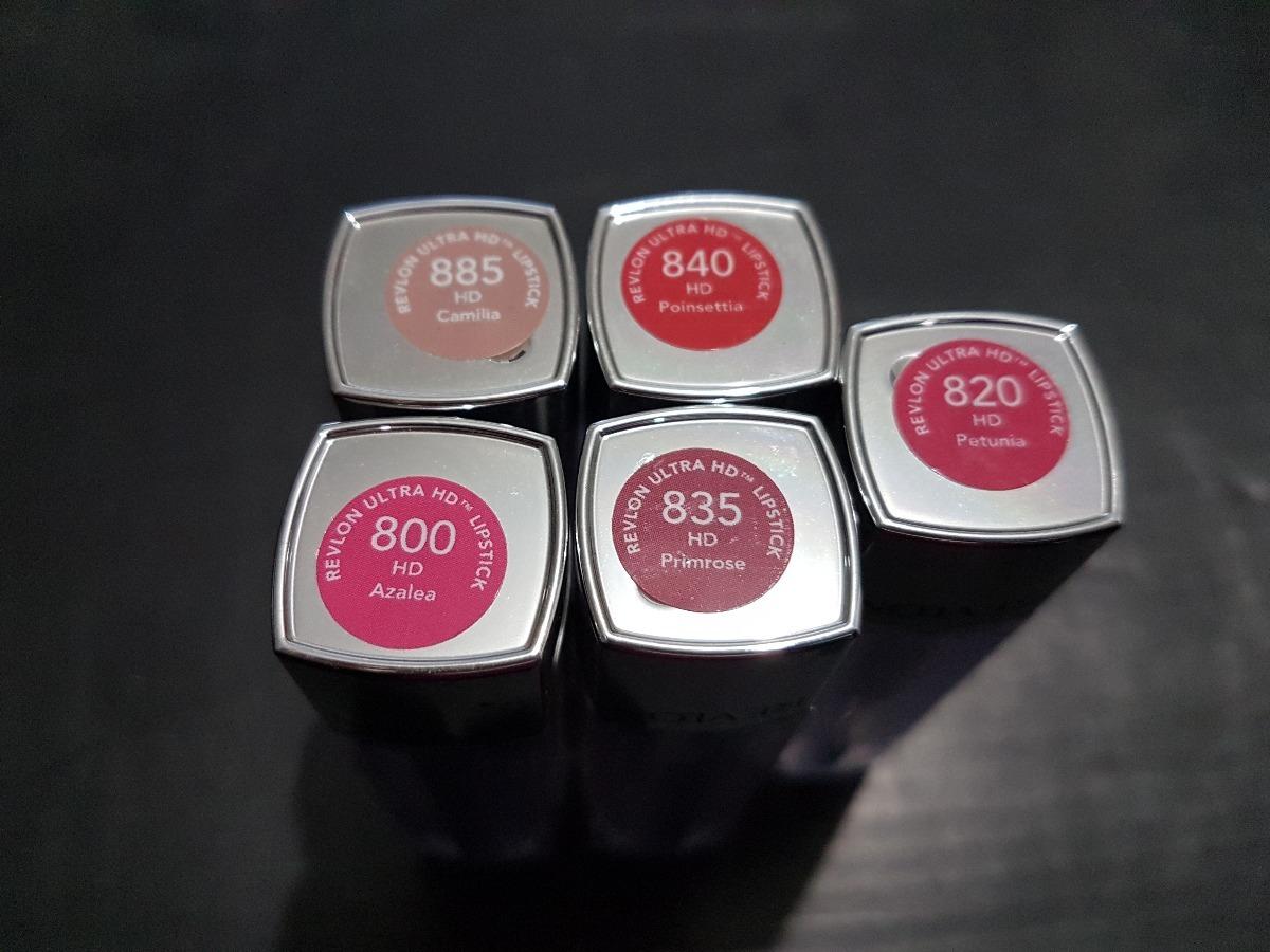 Labial Revlon Ultra Hd Lipstick 20000 En Mercado Libre No840 Pointsettia Cargando Zoom