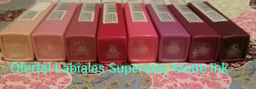labial superstay matte ink *maybelline*
