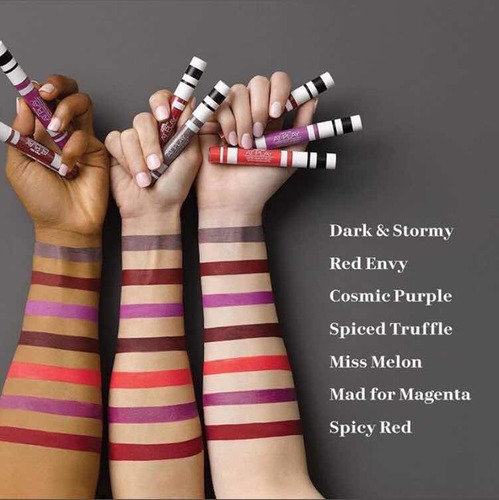 labiales líquidos mate mary kay