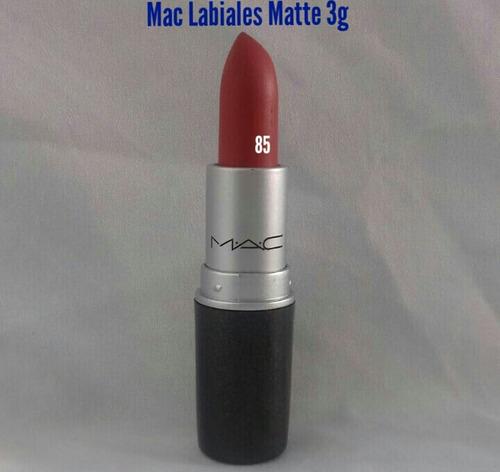 labiales mac (lote de 30 pzas) + envio gratis