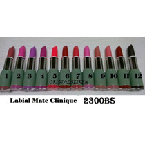 Labial Matte Clinique, Labial Mate Clinique, Detal Y Mayor