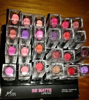 labiales mate yh beja(colores variados)/al por mayor y menor