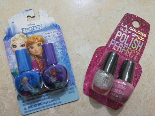 Labiales Y Pintura De Uñas Para Niñas Disney Frozen ...