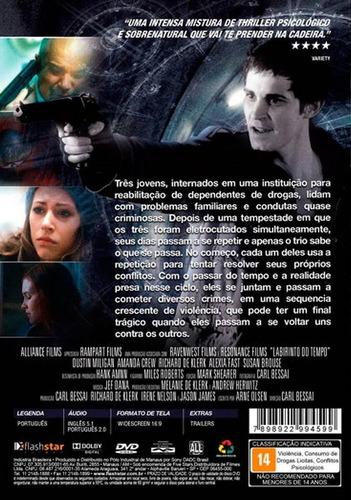 labirinto do tempo - dvd - dublado - novo - lacrado