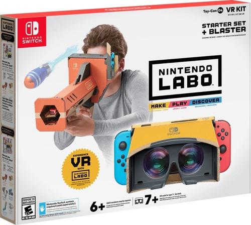 labo toy-con 04: vr kit - starter set + blaster - nintendo s