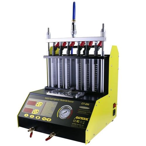 laboratorio de inyectores ct-200 autool limpiador probador