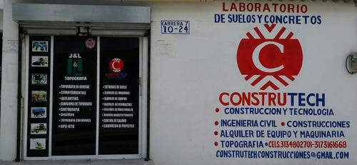 laboratorio de suelos y concretos