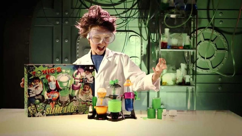 laboratorio del dr toxic slime lab de creacion next point tv